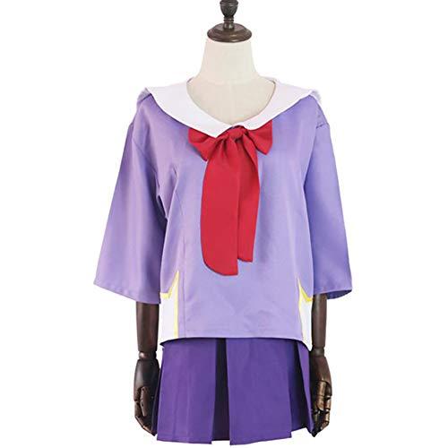 Anime Cosplay Kostüm Mirai Nikki Cosplay Costume Uniform Kostüm Inklusive Top + Rock + Socken - Gasai Yuno,XL