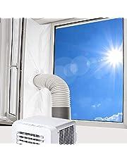 Vegena Raamafdichting voor mobiele airconditioners, airconditioning, afvoerluchtdroger, droger bouwdroger, afvoerdroger, luchtontvochtiger, Hot Air Stop voor ramen kantelramen dakramen