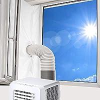 Vegena 400 cm universal fönstertätning, fönstertätning luftkonditionering för bärbar luftkonditionering och torktumlare...
