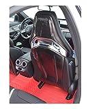 XHSM Piezas de Coches para Mercedes-Benz C63/A45/CLA45/GLA45 AMG Silla Coche Parche Trasero Benche Fibra De Carbono Cubierta Trasera del Asiento Carcasa del Respaldo Decoración