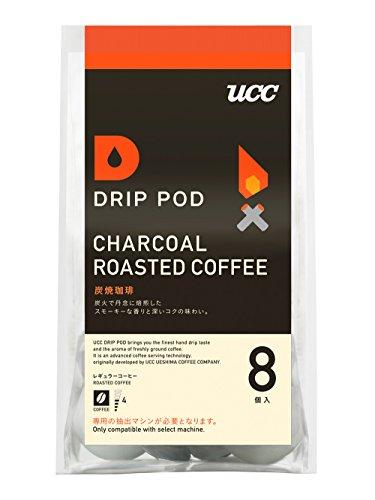 UCC上島珈琲 ドリップポッド 炭焼珈琲 コーヒー 8個 [7433]