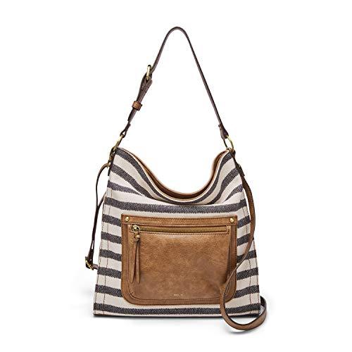 Relic by Fossil Women's Tinsley Convertible Crossbody Handbag, Color: Black/White Model: (RLH9009005)
