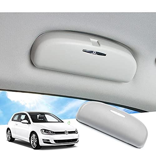GAFAT Soporte para gafas para Golf 7/Tiguan/P*assa-t B8 Variant/T*oura-n/Atlas, soporte para gafas de sol, funda para coche, caja organizadora
