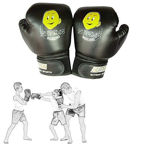 ZCECCO Guantes Kick Boxing Guantillas Karate, Guantes de Boxeo Guantes de Boxeo para Kickboxing Guantes de Kickboxing Black,Freesize