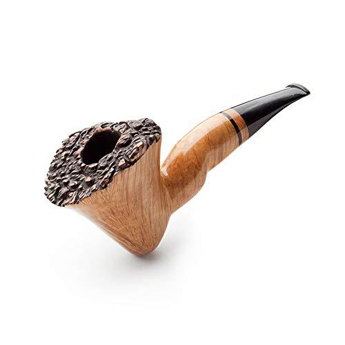 Tabak Eimer Heather Holz Kopf Material ganze Holz ganze Massivholz handgemachte Tabak Rohr gebogen Retro Vintage Rohr zu senden Raucher Zubehör Set Geschenk High-End-Qualität