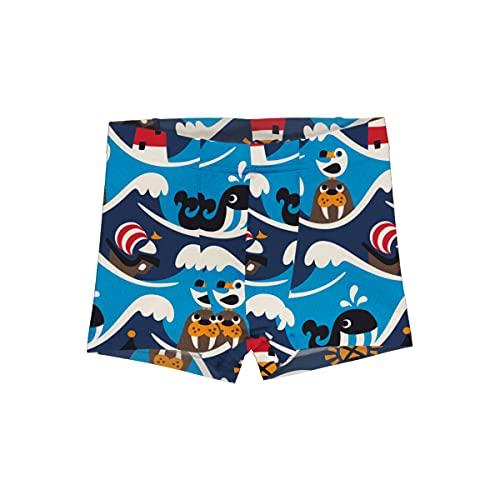 Maxomorra Jungen Boxershorts/Unterhose mit Ozean-Motiv 110/116