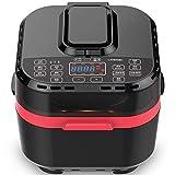 Freidora de aire 10L / 1500W, freidora eléctrica inteligente máquina automática de papas fritas sin humo, utensilios de cocina con control de temperatura de tiempo, adecuada para cocinar en la...