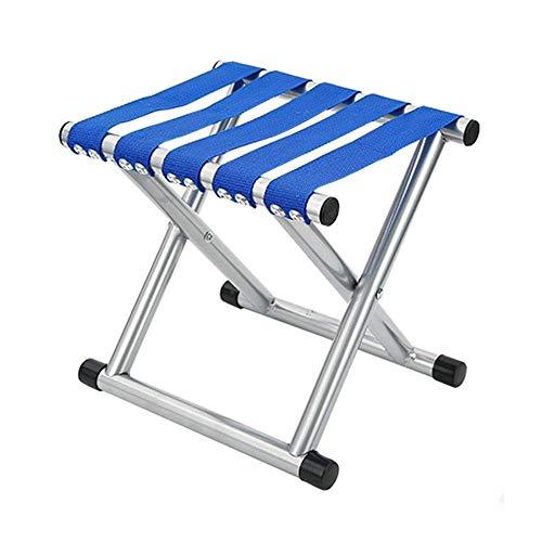 YLCJ kruk, inklapbaar, hoge belasting, klapstoel, klein, draagbaar, voor viskruk, licht, middelgroot, blauw Blauw