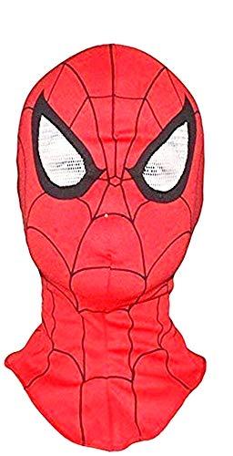Spider-man masker - volwassen - masker - carnaval - stof - elastiek - superhelden - origineel idee voor een verjaardagscadeau voor kerstmis spiderman