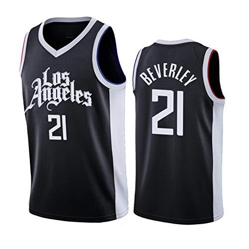 Camiseta de baloncesto Clippers 21#Befelli Sudadera, usada para la nueva temporada de baloncesto para hombre, color negro y L