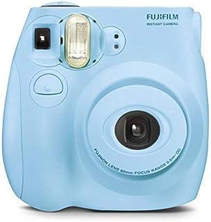 Fujifilm Instax Mini 7S Instant Film Camera Light Blue (Renewed)