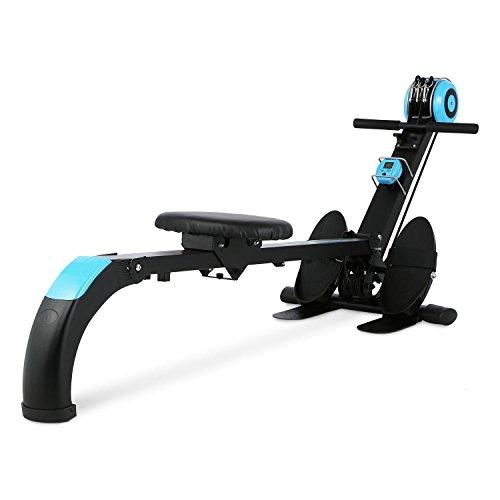 Capital Sports Stringmaster - Machine Aviron de Musculation et Entrainement Fitness, Rameur...