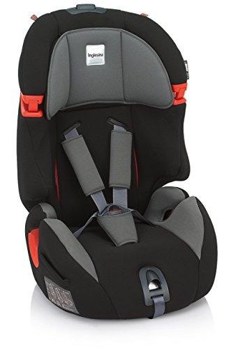 Inglesina Prime Miglia Silla de coche, grupo 1/2/3, color negro