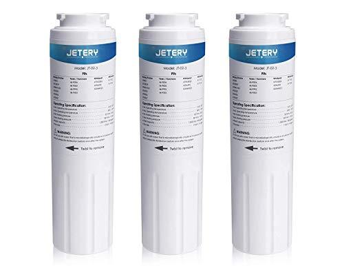 JETERY UKF8001 Ersatz-Wasserfilter für Kühlschrank, kompatibel mit Maytag UKF8001AXX UKF-8001P, 4396395 469006, EDR4RXD1, Kenmore 469006, 3 Stück