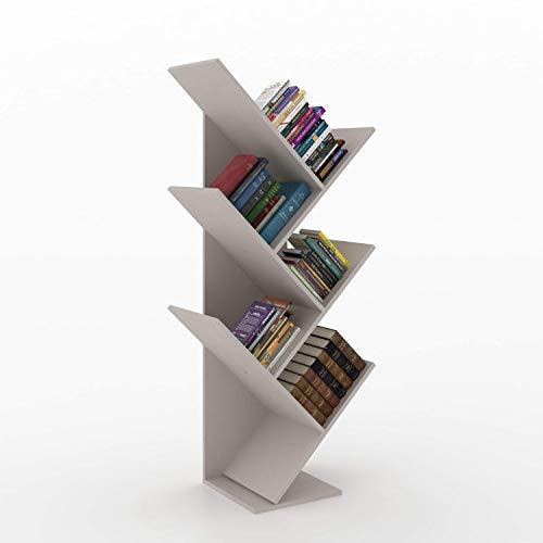 Estante para Livros Diagonal Spine Siena Móveis Moon