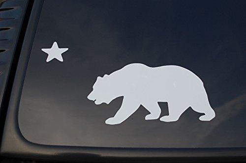 California Flag Sticker Vinyl Die Cut Decal State Bear Car Window Truck Pick Size/Color! V180 (4