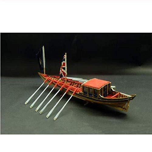XIUYU Wohnzimmerdekorationen Chem Sailboat Modell Navy Modell 1/48 Britische Holzschiff Versammlung Kitclassic Segelboot Modell