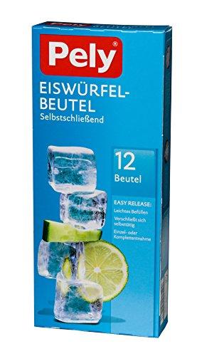 pely 5146 - Bolsas para Cubitos de hielos (con autocierre, 1
