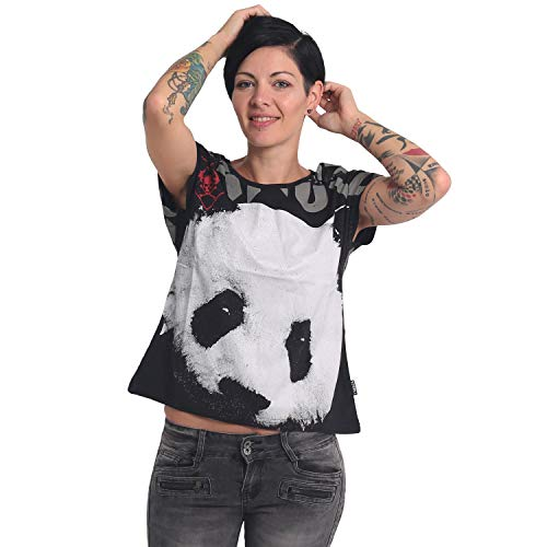 Yakuza Damen Panda Box Fit T-Shirt