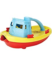 Save on Green Toys My First Tug Boat, Blue