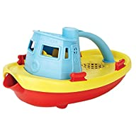 Green Toys Blue Red Yellow My First Tug Boat