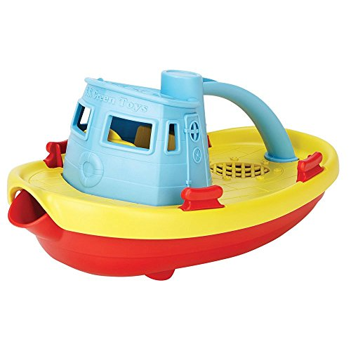 Green Toys My First Tug Boat, Blue $5.24(60% Off)