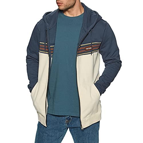 Rip Curl Surf Revival Z/t - Sudadera con capucha para hombre, azul marino, L