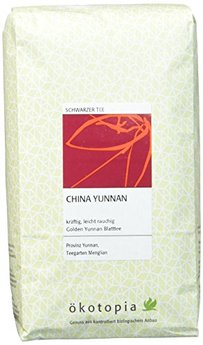 Ökotopia Schwarzer Tee China Yunnan, 1er Pack (1 x 500 g)