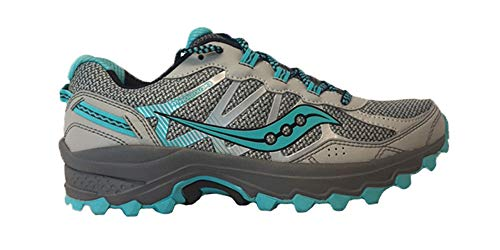 Saucony Women's Excursion Tr11 Running Shoes, Grey/Blue/Black, 7 W US