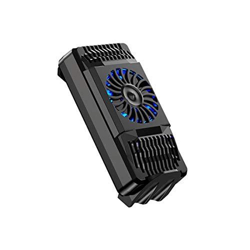 BiaBai Semiconductor de luz Radiador de teléfono móvil Enfriador silencioso Acondicionador de ahorro de energía y protección del medio ambiente