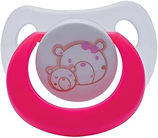 Tollyjoy Pacifier 0+ Month Sym Bulb, Pink, 21g