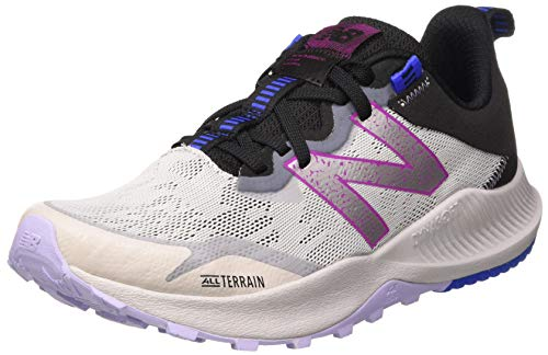 New Balance Nitrel v4 Trail, Zapatillas para Carreras de montaña para Mujer, Aluminio Ligero, 38 EU
