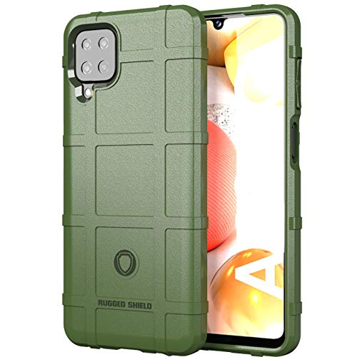 Samsung Galaxy A12 5G Case,Galaxy M12 Heavy Duty Shockproof Scratch Resistant Military Grade Drop Tested Outdoor Sports Protective Phone Case Impact Resistant Cover for Samsung Galaxy A12 5G HD-Green