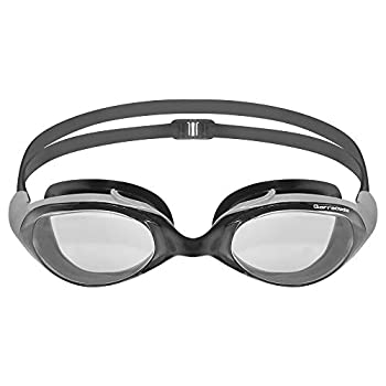 Barracuda Swim Goggle Velocity - One-Piece Frame Soft Silicone Seals for Adults #70455  Gray