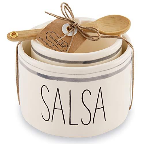 Mud Pie Salsa & Guac Bowl Set