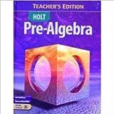 Pre-Algebra (Holt Pre-Algebra)