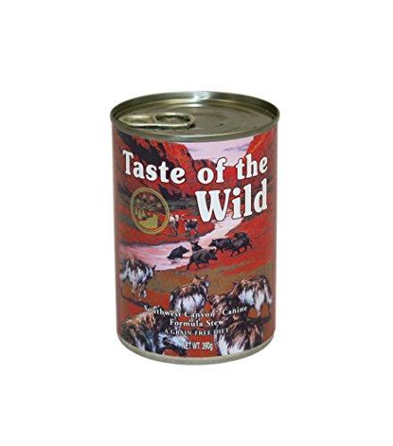 Taste Of The Wild Alimentacion Humeda con Jabali pack de 12 x390 gr Southwest Canyon ✅