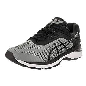 ASICS Men's GT-2000 6 Running Shoes, 8, Stone Grey/Black/White