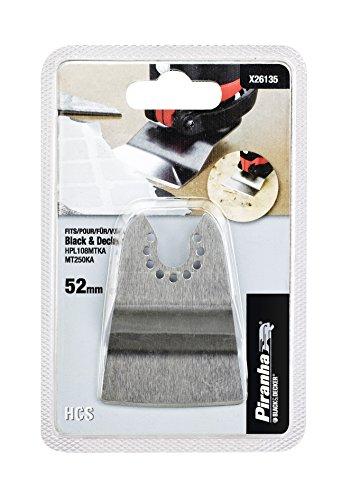 Black+Decker X26135-XJ - Rascador rigido 52mm x 26mm