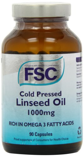 FSC Cold Pressed Linseed Oil 1000 90 capsule