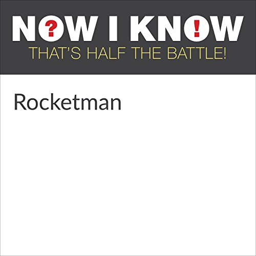Rocketman audiobook cover art