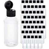 U.S. Art Supply 4 ounce Squeeze PET Plastic Bottles...