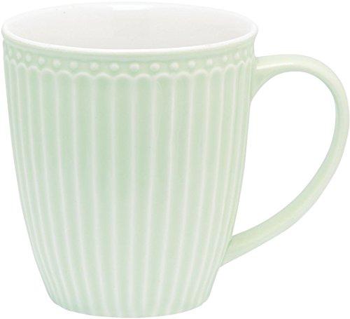 GreenGate - Tasse - Henkeltasse - Kaffeetasse - Mug - Alice - Pastell grün - Porzellan - 300 ml