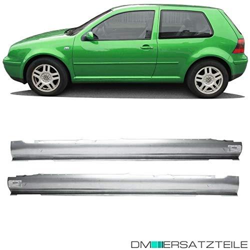 DM Autoteile SET Golf 4 Bora Limousine 2/3-Türer Einstiegblech Schweller Rechts Links 97-06