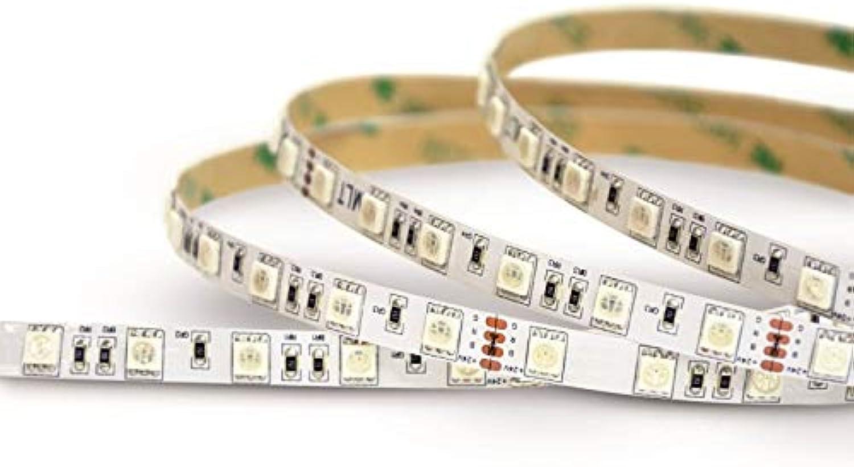 LED Streifen 5050 5m 24V 14,4W m 430lm m 60led m IP20 RGB