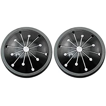 ToToT 2pcs Household Kitchen Waste Disposal Splash Proof Cover Accessories Multifunctional Drainage Sound Insulation and Splash Proof Ring