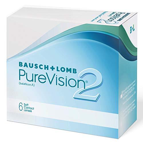 PureVision2 HD Monatslinsen weich, 6 Stück BC 8.6 mm / DIA 14 / -1.25 Dioptrien