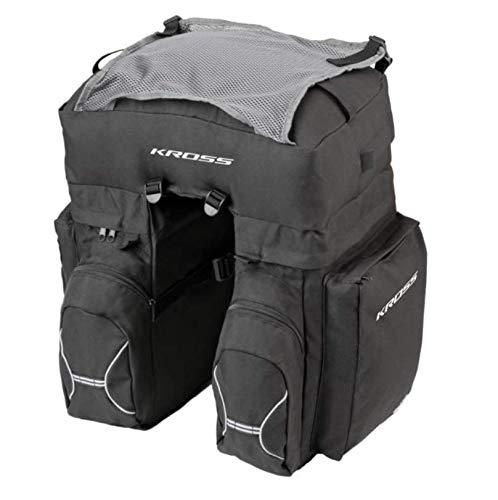 KROSS Roamer Triple Rear Bag - Bolsa para bicicleta