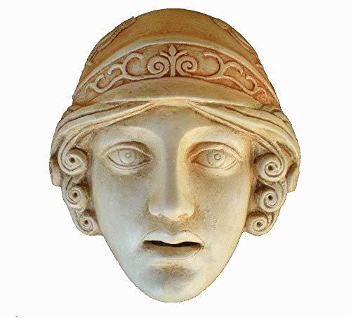 Handmade Athena Diosa en Miniatura Máscara – Teatro