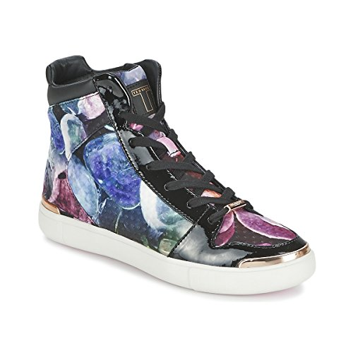 TED BAKER MADISN Sneakers dames Zwart/Multicolour Hoge sneakers